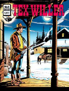 Tex Willer -lehti no 3/2015. #egmont #sarjakuva #sarjis #sarjakuvalehti