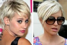 Short Blonde Pixie Haircut with Bangs for Summer 2014 - Kimberly Wyatt Hairstyles - Pretty Designs