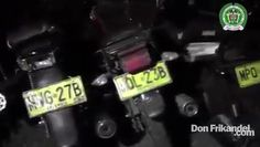 Estas motocicletas fueron recuperadas en Cali, en operativos realizados ...