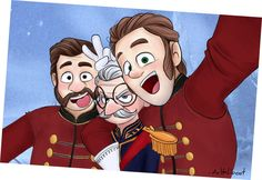 Weselton selfie by MrHaliboot on deviantART