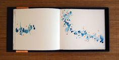 Marina Soria   Obra Artística   Libros de Artista Street Art, Tinta China, Typography, Lettering, Mark Making, Book Journal, Modern Calligraphy, Moleskine, Watercolors