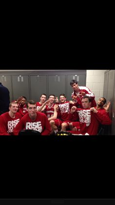 Rise to the occasion.. B1G tournament 2013.. Wisconsin badgers mens basketball.. BENCH MOB