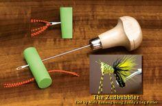 Zuddy's Leg Puller    Bass Fly Tying Tool
