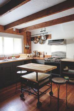Old Inn, Kitchen via Apartment Therapy