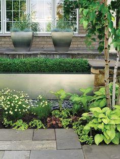 backyard design – Home Decorating & Landscape Design Pins Modern Landscaping, Front Yard Landscaping, Landscaping Ideas, Farmhouse Landscaping, Patio Ideas, Outdoor Ideas, Outdoor Spaces, Outdoor Decor, Outdoor Living