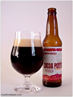 Tommyknocker Brewery & Pub Cocoa Porter Seasonal Ale (brewed with cocoa & honey) #CO #craftbeer