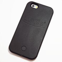 Black LuMee Light Up Selfie Case for iPhone 6 / iPhone 6S