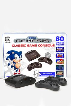 SEGA Genesis Wireless Game Console  .... My dreams just came true considering my real one has an electrical short, but all the games are fine!