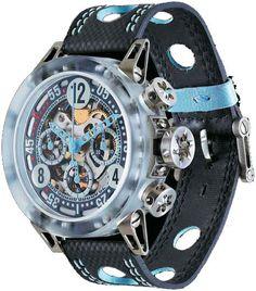 B.R.M. Watches MK-44 Light Makrolon #bezel-fixed #bracelet-strap-leather…