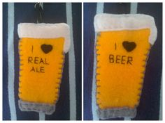 beer glass keyring, beer glass keychain, real ale glass, gift for him, father's day gift, beer drinkers gift, gift for dad, gift for husband by TheCraftingGardener on Etsy