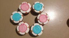 cupcakes aankondiging zwangerschap/geboorte