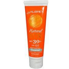 Aubrey Organics Natural Sun sunscreen