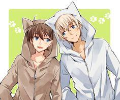 Shinichi and Amuro