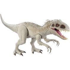 Be a part of the adventure with the Super Colossal Indominus Rex inspired by the Jurassic World animated series, Camp Cretaceous! At approximately 18-in high and 3.5 ft long/45.72 x 104.14-cm, this Super Colossal Indominus Rex figure features realistic skin texture and color authentic to the series. Indominus Rex comes battle-ready with articulated arms and legs, extra-wide jaws that can open and close, and the ability to swallow 20 mini dinosaur action figures whole (sold separately). To releas Space Marine, Beanie Boos, Warhammer 40k, Mattel Shop, Iron Man, Amblin Entertainment, Paw Patrol, Jurassic Park World, Jurassic World Indominus Rex