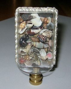 Have one to sell? Sell it yourself  Miniature Seashells Lamp Finial, lamp topper