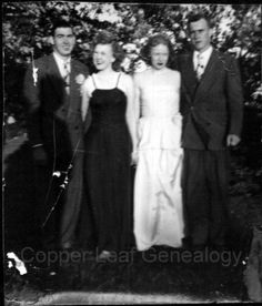 Wordless Wednesday: Senior Prom 1949