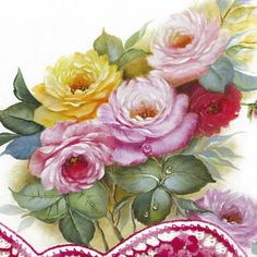 Rosas lindas!! Pintura