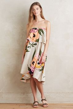 Olea Swing Dress #anthropologie