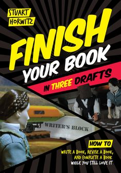 The cover for Finish Your Book in Three Drafts