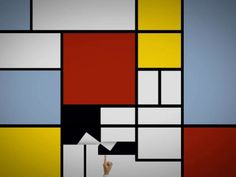 Piet Mondrian's work history was expressed by motion graphics. モンドリアンの歴代の作品をモーショングラフィックで表現 Video Arts Training 2007 (class assignment) 映像造形実習2007 課題作品 Video Grand Prize of the 34th Exhibition of Miyazaki Pref. 第34回宮崎県美術展・映像部門 大賞