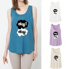 Women T Shirt Fashion Women Crop Top Letter Print Cotton T-shirts Plus Size Tee Tops