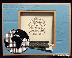 Stampin days; world traveler, going global, Stampin' UP!