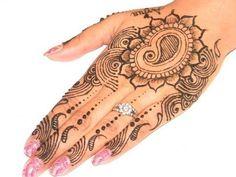 How to Make Henna Mehendi Design :  Mordern Henna Art
