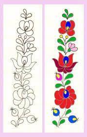 Resultado de imagen para diseños de dibujos para bordado mexicano