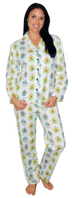 PajamaMania Whimsical White Flannel Pajama Flannel Pajamas, Whimsical, Cover Up, Dresses, Fashion, Vestidos, Moda, Fashion Styles, Dress
