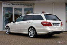 Mercedes-Benz E-Class W212 by Sport Wheels #mbhess #mbcars #mbtuning #sportwheels