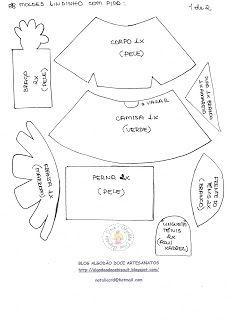 FOFUCHAS VARIAS CON MOLDES | Aprender manualidades es facilisimo.com