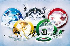 Olympic games - Winter by Xavier .K, via Behance
