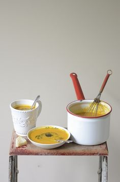 Creamy Carrot and Ginger Soup
