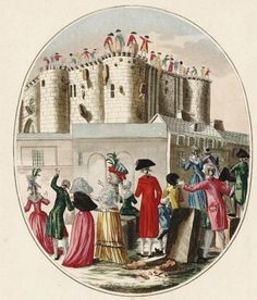 Martial Deny: Demolition of the Bastille on Friday the 17 July 1789.