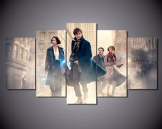 5 Piece Wall Art Canvas Poster of Fantastic Beasts And Where To Find Them //Price: $21.95 & FREE Shipping //     Get it here ---> http://hogwartsgiftstore.com/index.php/product/5-piece-wall-art-canvas-poster-of-fantastic-beasts-and-where-to-find-them/    Follow us on instagram @hogwartsgifts    #harrypotter