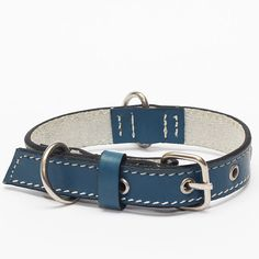 Genuine Leather Dog Collars with Stainless Steel Buckles - The Strongest Collars in Amazon *** Wow! I love this. Check it out now! : Collars for dogs