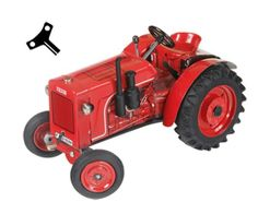Tractor de cuerda FAHR F22  #momamini #juguetes #miniaturas #coleccionista #tractorcuerda #tractorfahr #retro