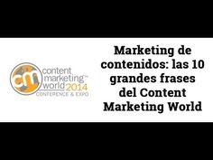Content Marketing World: 10 grandes frases  @webempresa20 #contentmarketing #marketingdecontenidos #contentmarketingtips