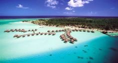 Bora Bora resorts and vacation packages for couples, honeymoons, and families.