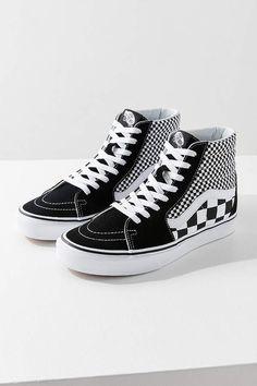 81c7dd24f85 Vans Sk8-Hi Mix Checkerboard Sneaker