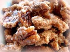 Aunt Missy's Iced Pecans (probably makes a great gift!)