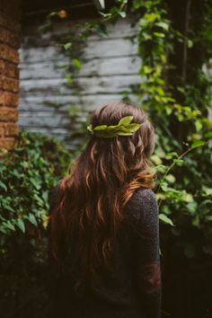 Sincerely, Kinsey: Fall Inspired Leaf Crown