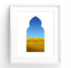 Arabian Nights Wall Art Moroccan Print Desert Art Travel Art Eastern Art Landscape Art Downloadable Art - Original RedTempleArt - F410 by RedTempleArt http://ift.tt/1ZXMUka