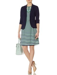 navy and mint!