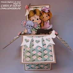 Workshop 113  Card in a box