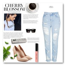 """Bez naslova #125"" by neiracilovic-i ❤ liked on Polyvore featuring Alexander McQueen, Topshop and Bobbi Brown Cosmetics"