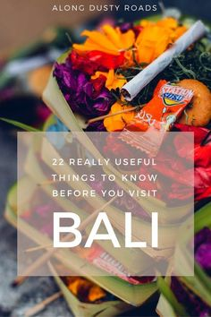 Planning a trip to Bali? Don't miss these 22 incredibly useful things to know before you go! Click on the pin to discover more.