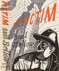 Saul Bellow, The Victim, London: John Lehmann Ltd., 1948. Cover illustration by Edward Bawden