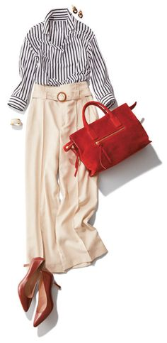 Classic Outfits, Casual Outfits, Fashion Outfits, Womens Fashion, Office Fashion, Work Fashion, Work Chic, Summer Work Outfits, Japan Fashion