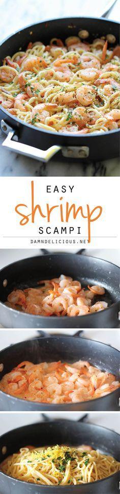 Shrimp Scampi | CookBim